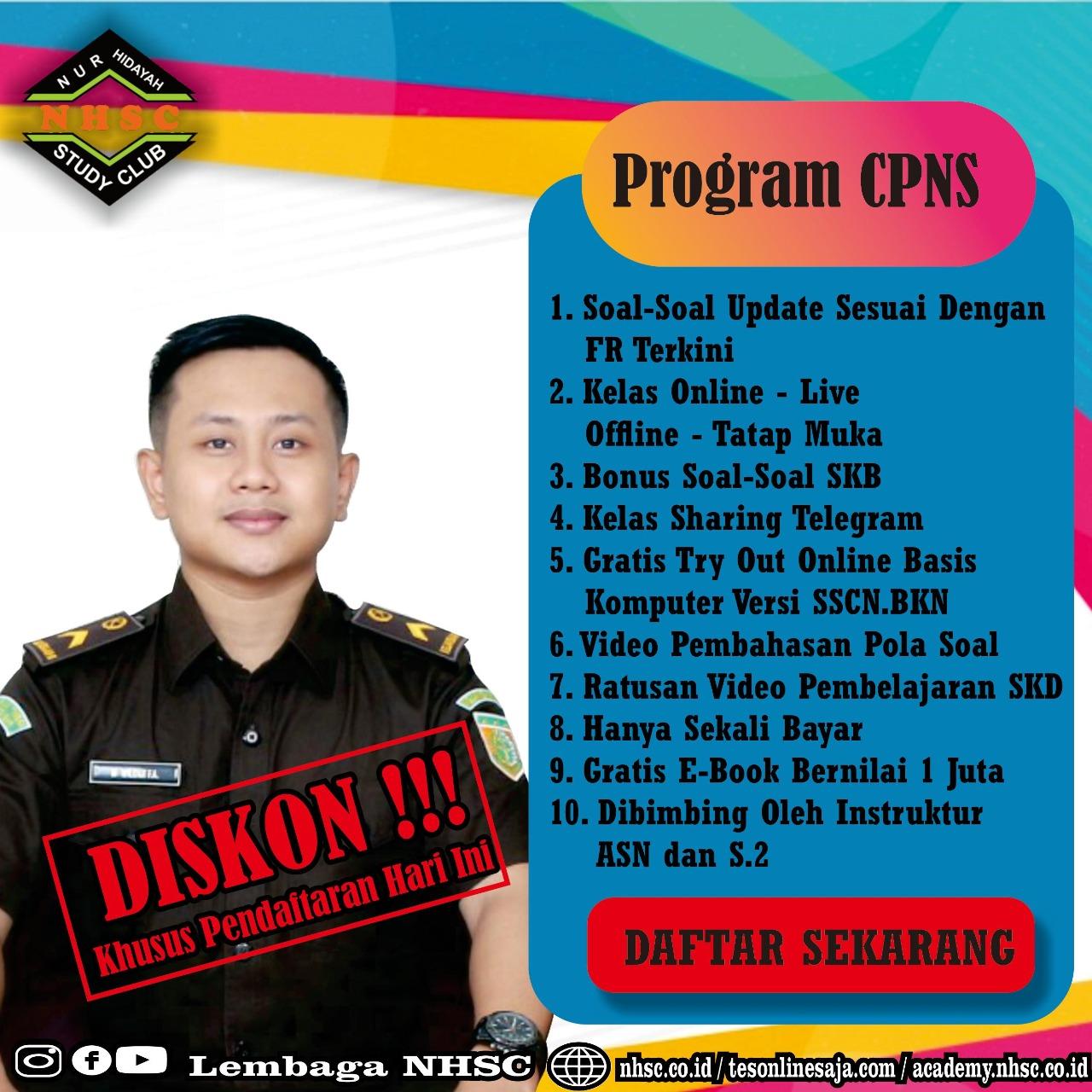 diskon CPNS